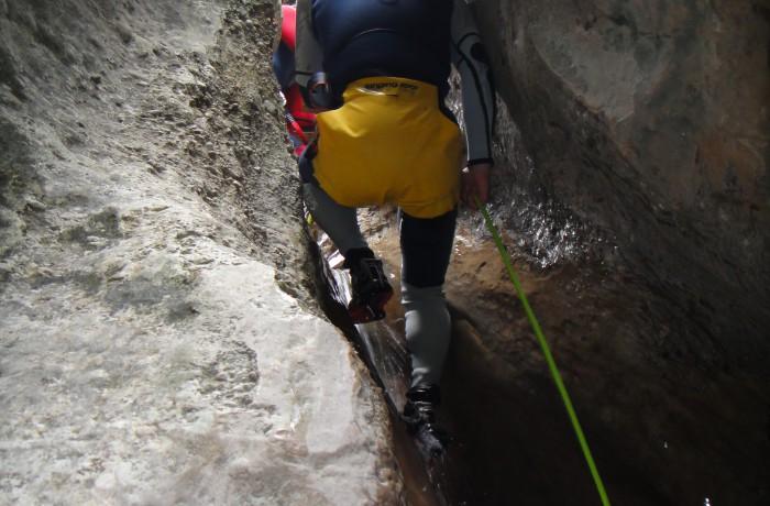 Canyoning i Spanien maj 2014